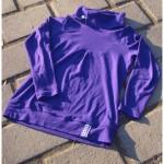 Langarmshirt violett