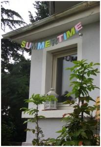Girlande Sommerzeit