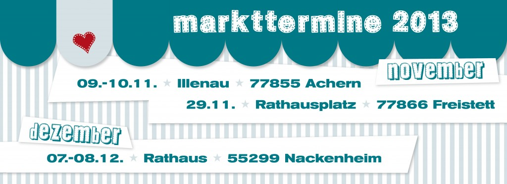 Markttermine 2013