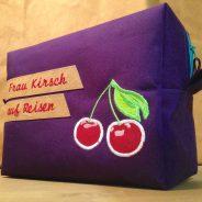 Frau Kirsch auf Reisen